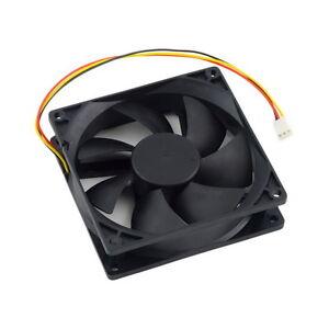 12V 3-Pin 9cm 90 x 25mm 90mm CPU Heat Sinks Cooler Fan DC Cooling Fan 65 CFM OK