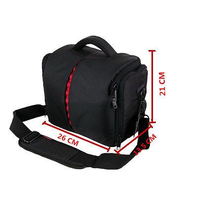 DSLR SLR Digital Black Oxford Camera Shoulder Case Bag For Sony Nikon Canon