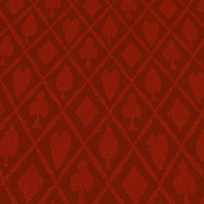 Poker Table Speed Cloth - 10FT X 5FT Red Suited Speed Cloth Poker Table Felt 100% Polyester