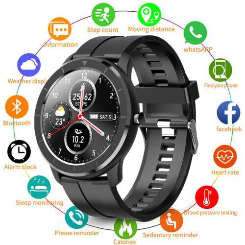 Android IOS Smartwatch IP68 Sportuhr Armband Blutdruck Fitness Tracker DHL