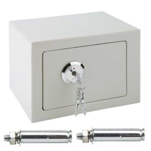 Fireproof Safe Security Box Chest Fire Waterproof Lock Resistant Home Storage UK