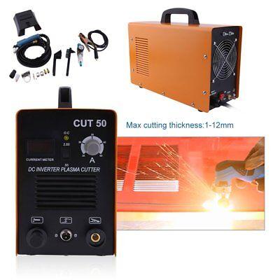 50 Amp Cut-50 Inverter Air Cutting Machine Plasma Cutter Welder Dual Voltage Bp