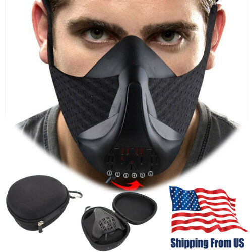 Sports Running Mask Gym Workout High Altitude Exercise Fitness Sport MMA  Masks