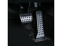 Weigesi Aluminium Brake Gas Pedal Auto Foot Pedals for Mazda 3 Sedan Hatchback 2019-2020 Accessories Automatic Transmission at car Foot Pedals