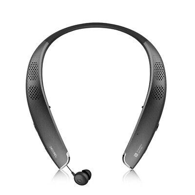 EXFIT Bluecom BSC-S1000 Wireless Bluetooth Retractable Neckband Speaker Headset