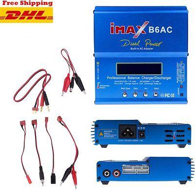 IMax B6AC V2 Netzteil Ladegerät Lipo NiMh LiFe Batterie Balance Charger RC FA