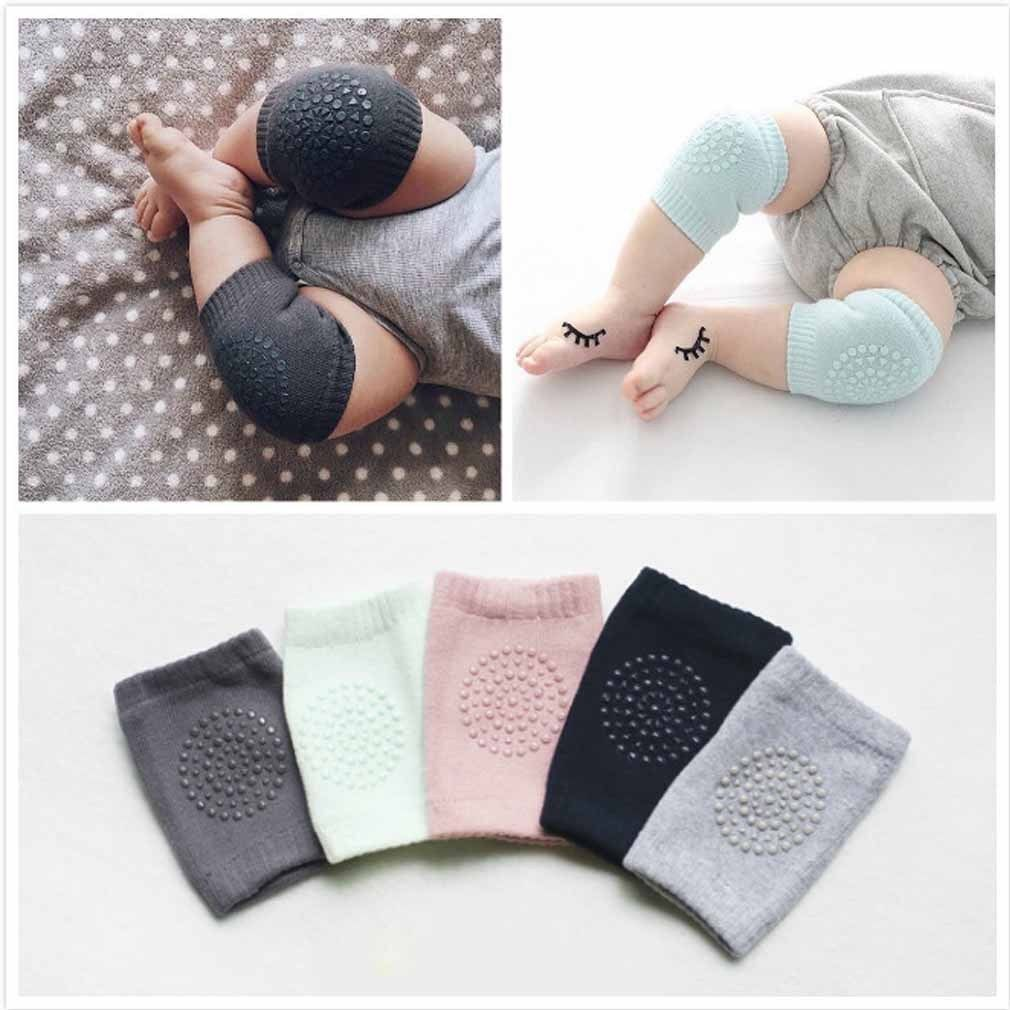 Купить Unbranded Baby Knee Pads - Baby Soft Anti-slip Elbow Protector Crawling Knee Pad Infant Toddler Baby Safety