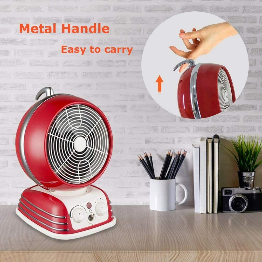 Space Heater for Office Electric Ceramic Space Heater with thermostat Portable Heating & Cooling Appliances