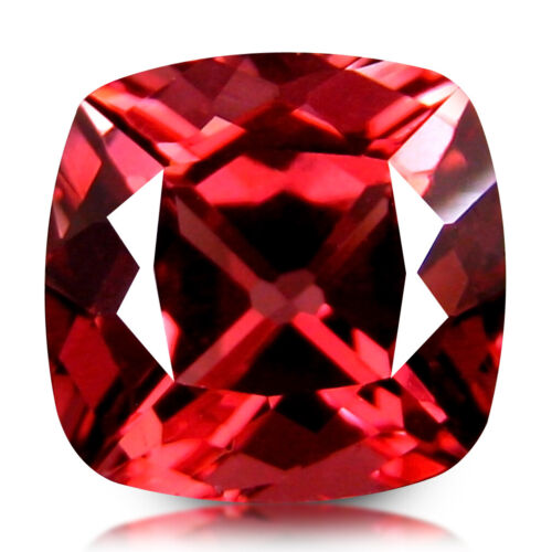 2.44 CT RARE! EXTRAORDINARY TOP SPARKLES NATURAL RED APATITE from BRAZIL