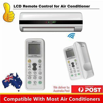 UNIVERSAL AIR CON CONDITIONER A/C REMOTE CONTROL 1000 in 1 Suits most brands GU