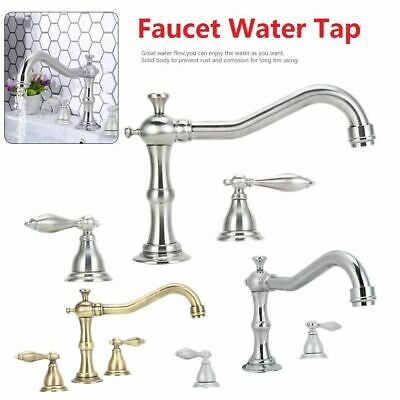 Brass 8 Inch Widespread Faucet (8 Inch Widespread Bathroom Vanity Sink Faucet Chrome / Brushed Nickel / Brass BT )