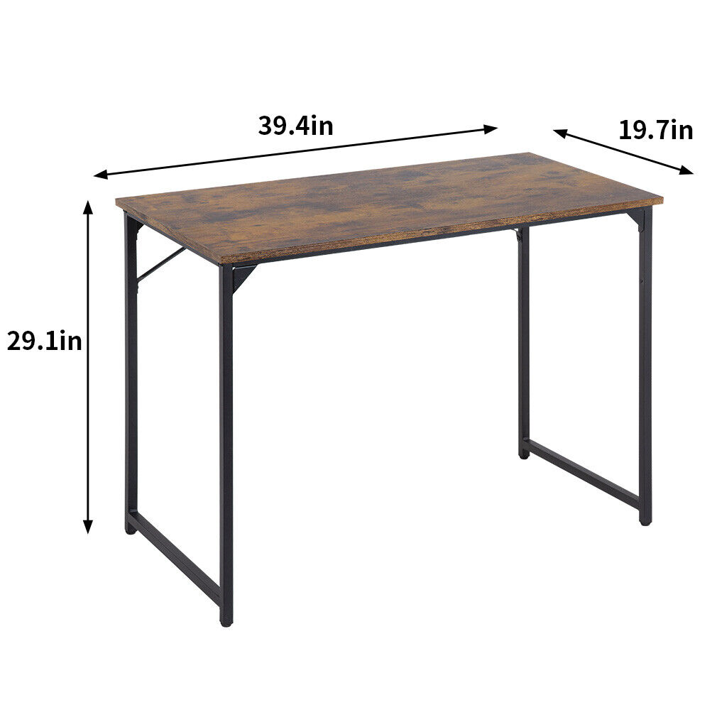 Computer Desk,39.4 inches Home Office Desk Writing Study Table Modern Simple Furniture