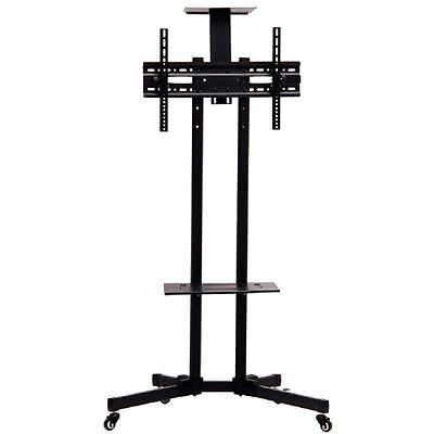 Rolling TV Cart Stand Mount w/ Wheels Mobile for 32
