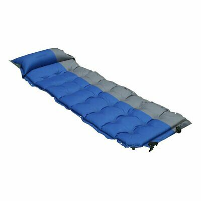 Self Inflating Pad Sleeping Mattress Air Bed Camping Hiking Mat Thicken MA ()