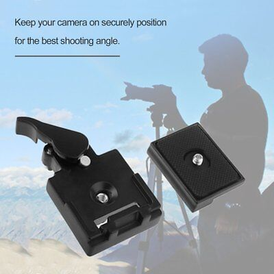 Camera Tripod Quick Release Plate Mount Adapter Clamp for DSLR DC Ballhead DX