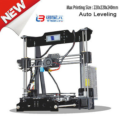 NEWEST! Tronxy FDM 3D Printer Precision Reprap Prusa i3 DIY & LCD in USA Stock