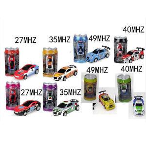 Coke Can Mini Speed RC Radio Remote Control Micro Racing Car Toy Gift New UK