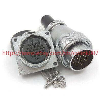 Ws28 26pin Power Connectorhigh Voltage Industrial Power Cable Plug Socket 5a
