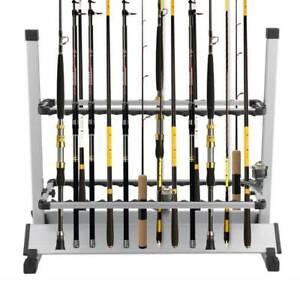 Fishing Rod Rack Holder for 24 Rods Aluminium - DELIVERED Sydney City Inner Sydney Preview