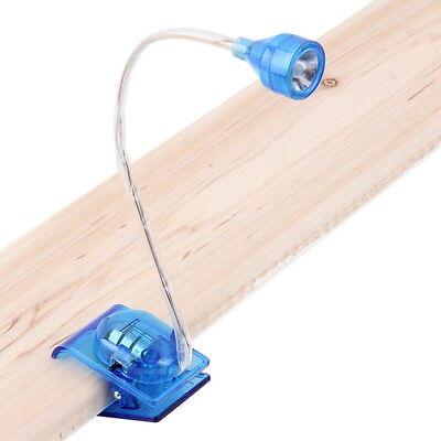 Durable Adjustable Bright LED Clip On Book Reading Light Mini Table Lamp MZ~