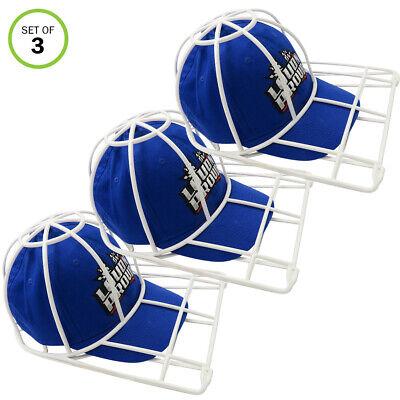 Evelots Ball Cap Cleaner-NEW BETTER MODEL-Washing Machine-Sport/Visor Hat-Set/3
