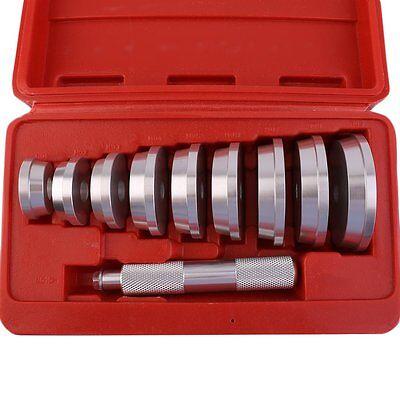 10pc Bushing Bearing Race and Seal Install Driver Set Kit w/Storage Box US EK