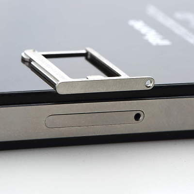 ~Micro SIM Card Tray Holder Slot Replacement for Apple iphone 4 4S 4th FL (Apple Iphone 4 Sim Card Tray)