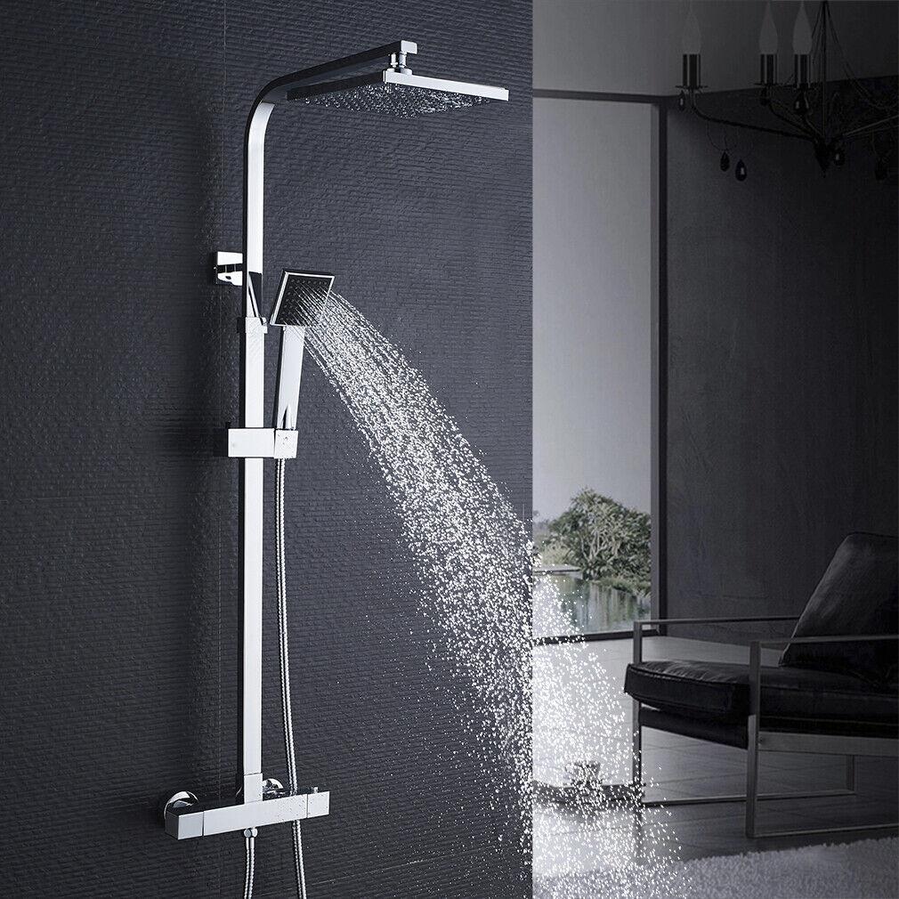 Thermostat Duscharmatur Duschsystem Brausearmatur Regendusche Duschset Duschkopf