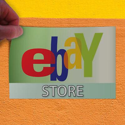 Decal Sticker Ebay Store Business Business Ebay Outdoor Store Sign Green