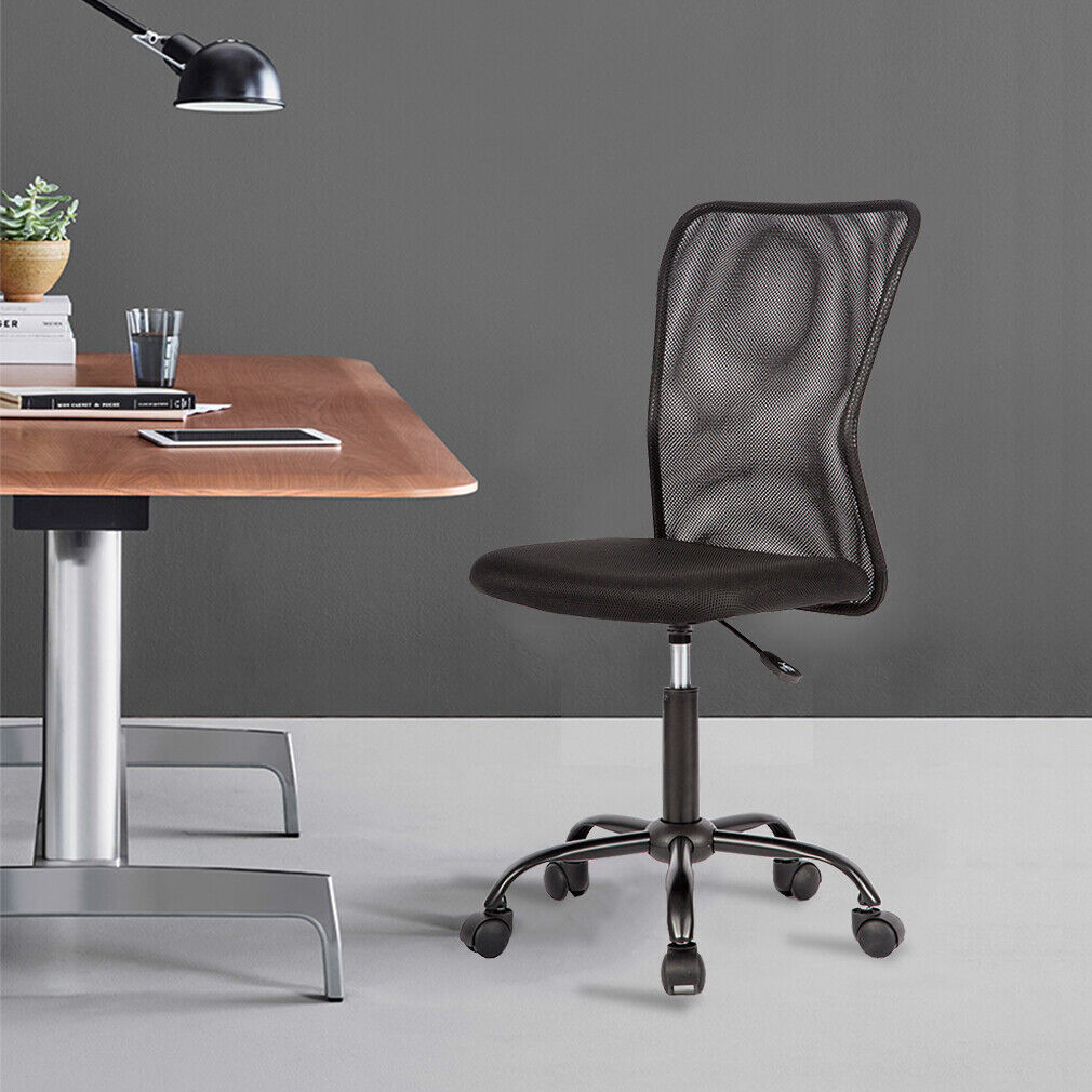 New Mesh Office Chair Computer Middle Back Task Swivel Seat Ergonomic Chair 1265 Chairs