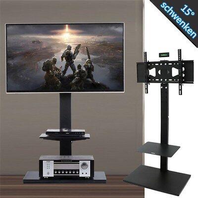 TV Standfuß 32-65 Zoll Fernseher Ständer Schwenkbar LCD LED TV Display Halterung