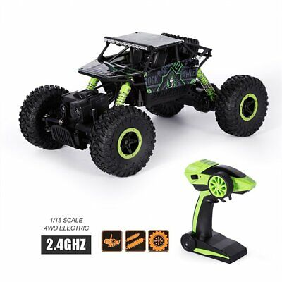 Rock Crawlers Rally Climbing Car 4WD W/ Remote Control Off-Road Vehicle Toy US