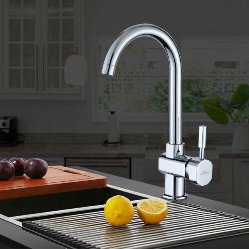 Küchenarmatur Wasserhahn Spültischarmatur Einhandmischer Mischbatterie für Küche