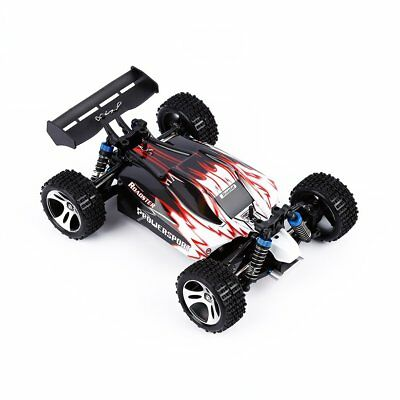WLtoys A959 Vortex 1:18 Scale 2.4G 4WD Electric RTR Buggy RC Car Off-Road HH