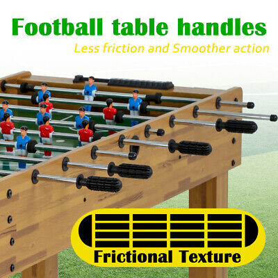 48-inch Game Foosball Table W/2 Balls 2 Cup Holders Indoor Soccer Table As a Foosball