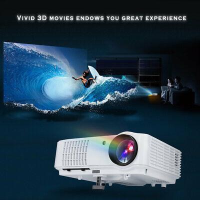 1080P HDMI 3D LED Mini Video Projector Home Cinema 2500 Lumens USB/VGA/TV/AV 95