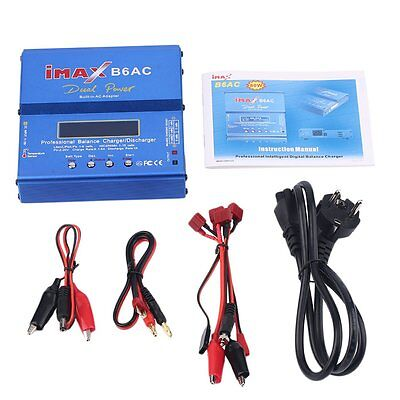 ORIGINAL IMax B6AC Dual Power Ladegerät Lipo NiMh Batterie Balance Charger IC