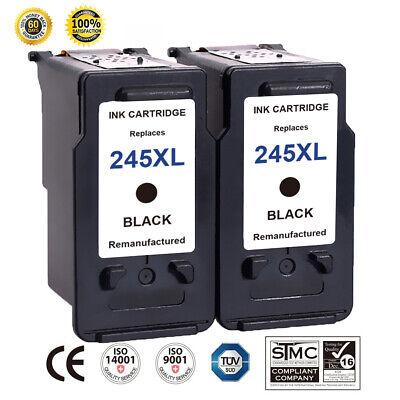 2 PK For Canon PG-245XL Black Ink Cartridge PIXMA MG2450 MG2520 MX490 MX492 ()