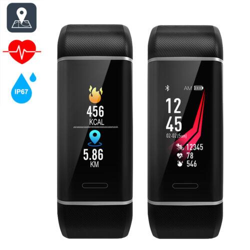 W7 GPS Bluetooth Fitness Tracker Smart Armband Uhr Smartwatch Sportuhr Pulsuhr