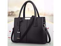 Brand New Ladies Leather Designer Tote Shoulder Bag