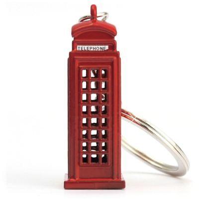 London Phone Booth Key Chain