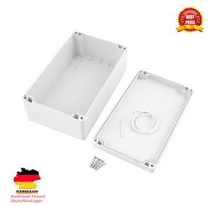 Kunststoff Gehäuse Box Platinen Verteilerkasten Elektronik Netzteil MontageZN