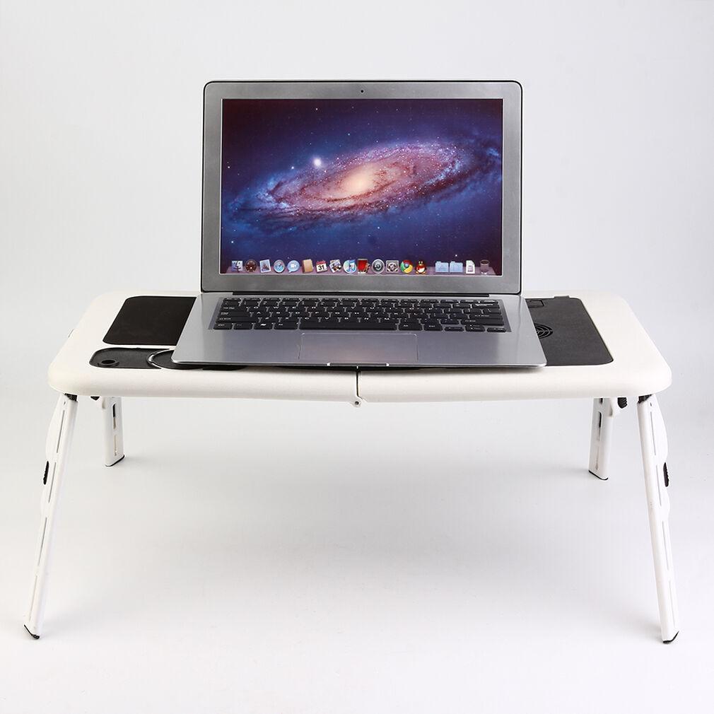 Portable Folding Laptop Desk Adjustable puter Table