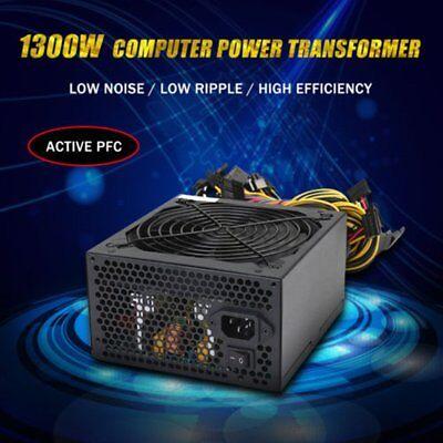 1300W Netzteil Stromversorgung Für 6 CPU Eth Ethereum Coin Rig MHeißer Verkauf