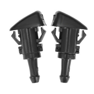 (2PCS Windshield Washer Water Nozzle Spray For 2009-2015 Dodge Ram 1500 4805742AB)