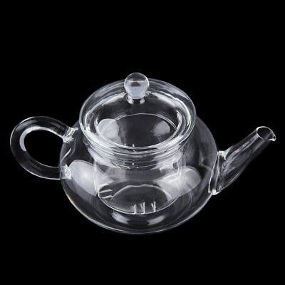 Teiera in vetro resistente al calore con caffè Infuser Caffè a foglia di tè 250m