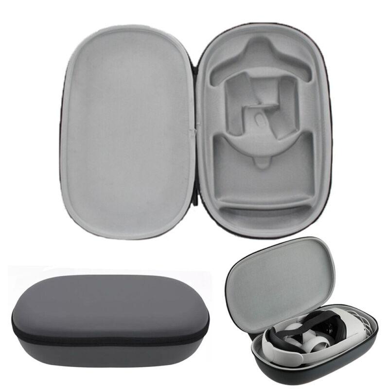 For Oculus Quest 2 EVA Storage VR Bag Headset & Controller Travel Carrying Case