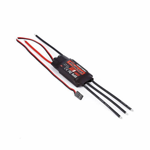 60A 2-6S Brushless ESC Speed controller RC Airplane for Hobbywing Skywalker IF