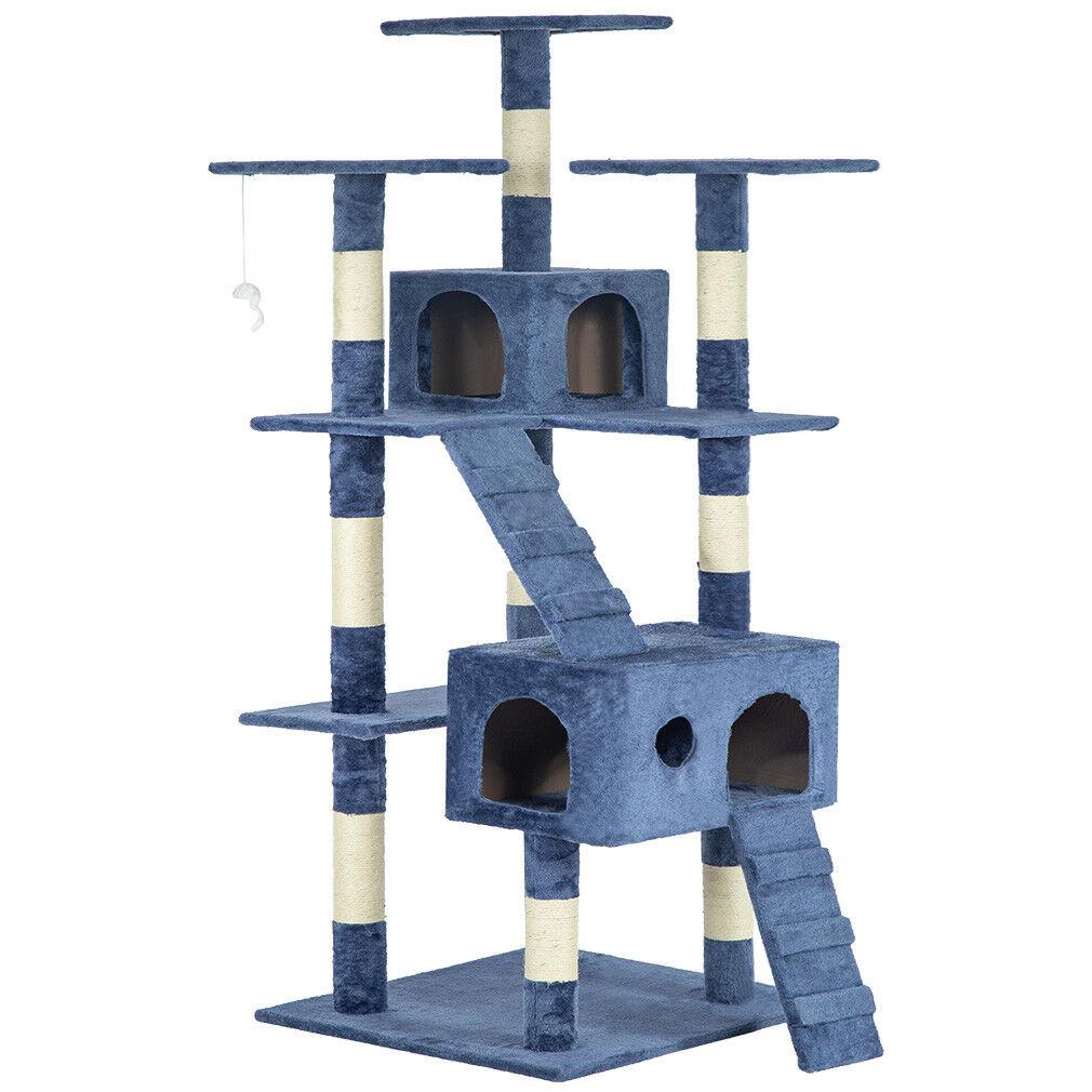 Купить BestPet CT-T07 - 73 Cat Tree Scratcher Play House Condo Furniture Bed Post Pet House