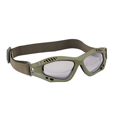 US USMC Army Military Marines Olive Drab Green Airsoft Ventec Tactical Goggles